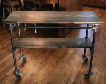 Genial Custom Industrial Table