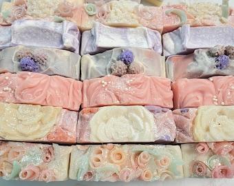 Handmade soap, Scented Soap, Soap Bar, Body Soap, Face soap, Soap Gift, Natural Handmade Soap Bar you pick scent, Artisan Soap, Homemade