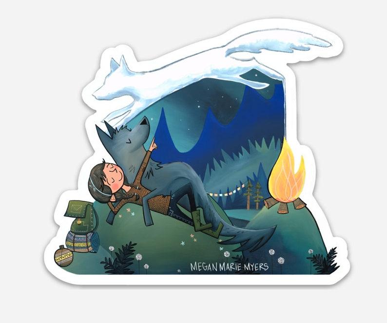 Sticker  Campfire dreams image 0