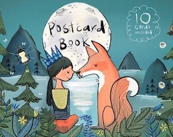Bend Oregon Illustrated Postcard Book - 10 cards