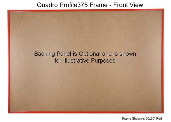 Black Quadro Frames 10x30 inch Picture Frame Style P375-3//8 inch Wide Molding