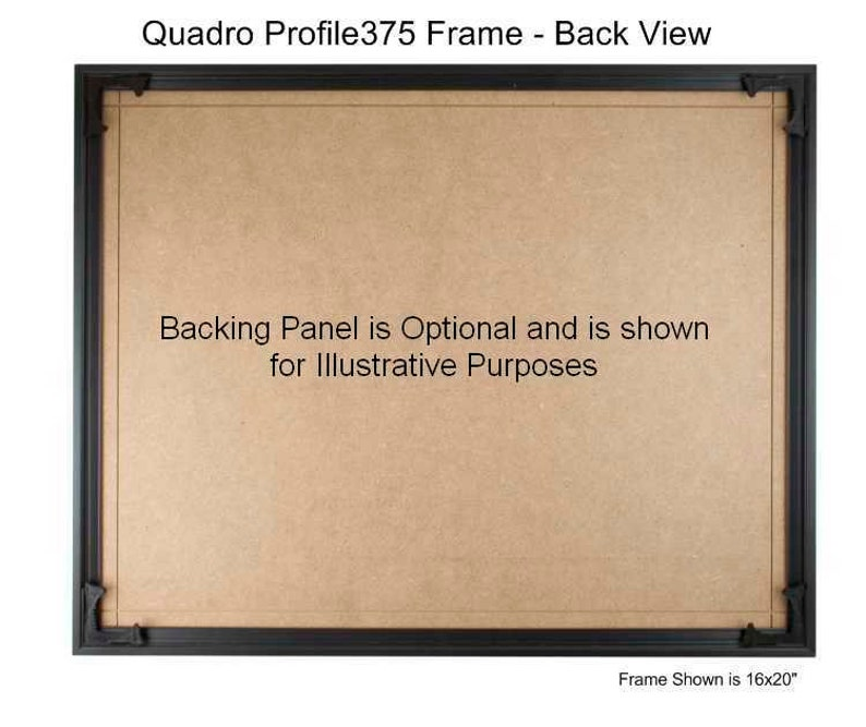 Quadro Frames 16x26 inch Picture Frame Style P375-38 inch Wide Molding