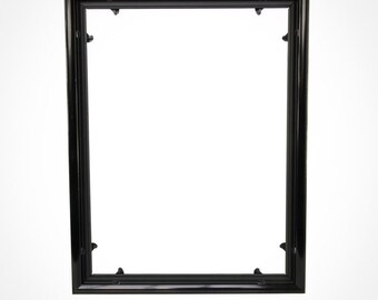 Quadro Frames 17x22 inch Picture Frame, Style P375 - 3/8 inch Wide Molding