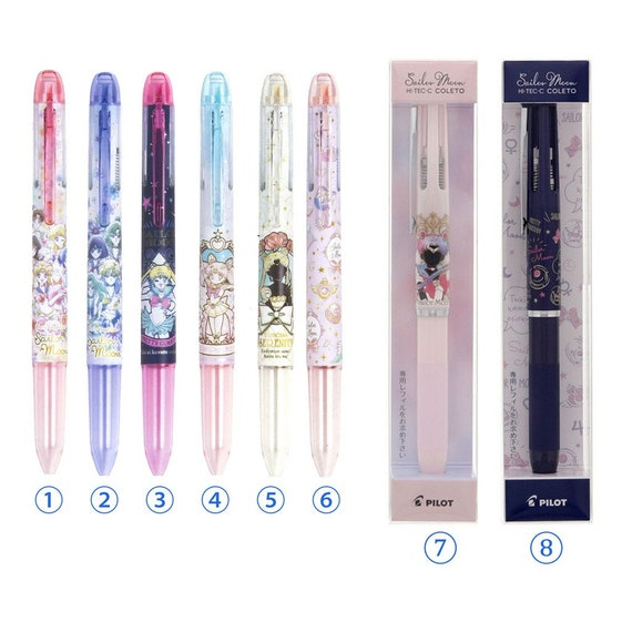 Hi-Tech C Colleto 500 Sailor Moon for 4 Color Body Limited and refills R