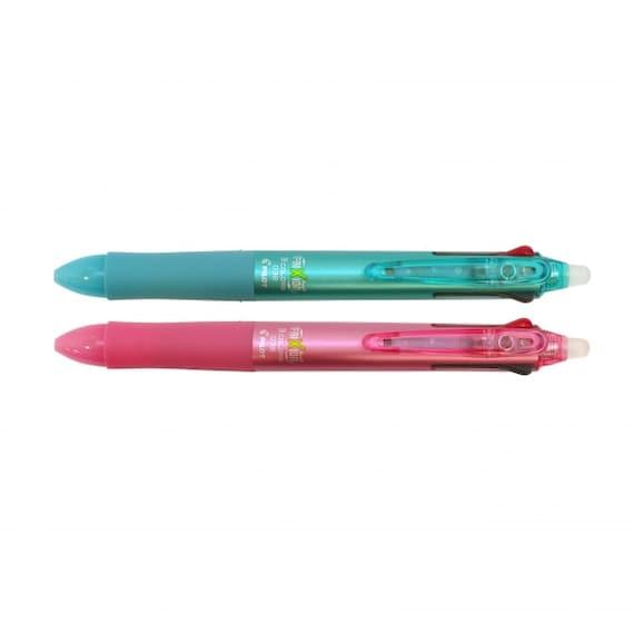 0.5 mm LKFB-60EF-BLLBLGP Pilot Frixion Ball 3 3 Color Gel Ink Multi Pen