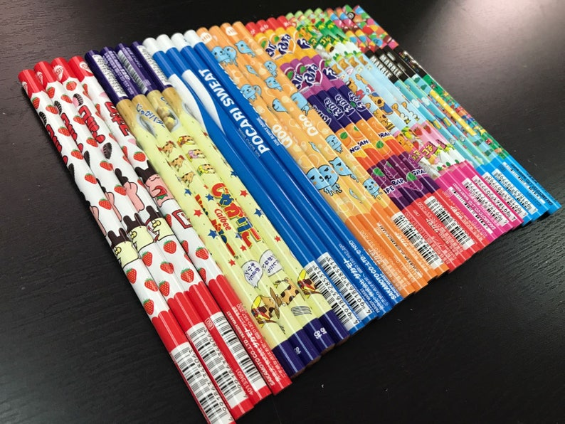 Japan Pencil Candy and Drinks collections Limited edition Made in Japan 7 style 7 pencils