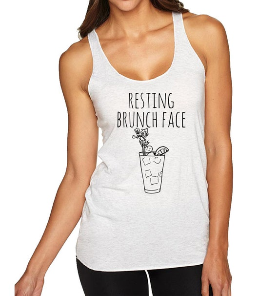 Yoga Tee Indigo or White Id Hike That Funny Gift for Her Womens Graphic Racerback Tank Top Shirts with Sayings