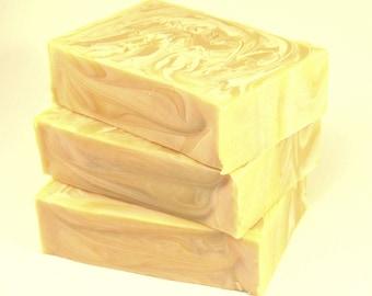 LEMONADE Soap, natural soap, vegan soap, cold process soap, handmade soap Australia, artisan soap