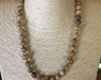 Small stone Necklace