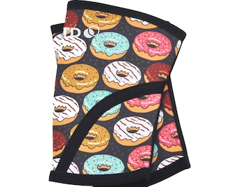 Donut Judge Me | CrossFit Knee Sleeves | Crossfit Compression Knee Sleeves | Fitness Weightlifting Sleeves | 5mm Compression Knee Sleeve