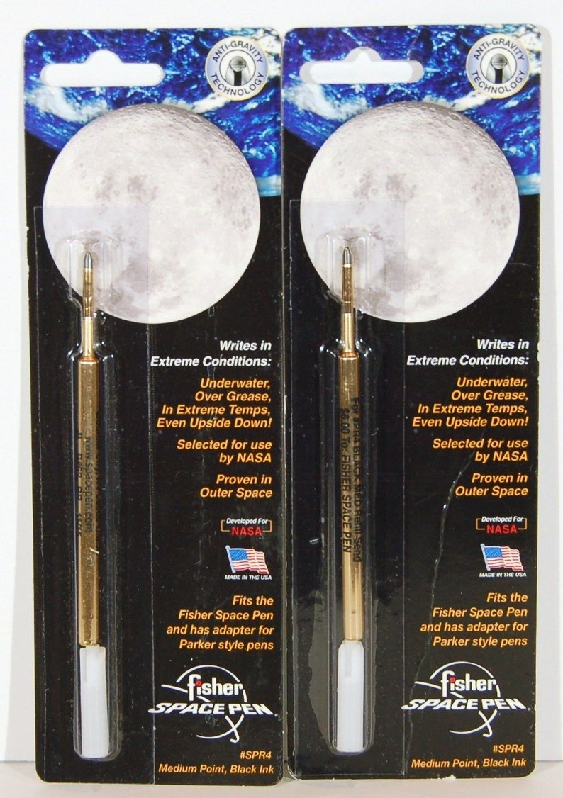 Fisher Space Pen Refill with Parker adapter SPR4 Black medium