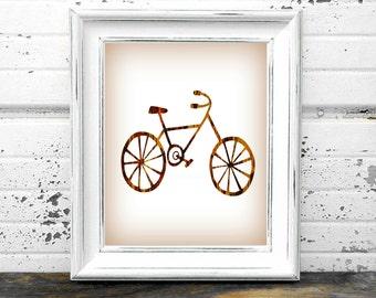 Vintage Wood Bike Print,#Bike,#Bicycle,#Vintage,#old,#Wooden,#Rustic,#Cycle,#Biker,#Ride,#DIY,#Art,#Print,#sports,#HomeDecor,#OfficeDecor,