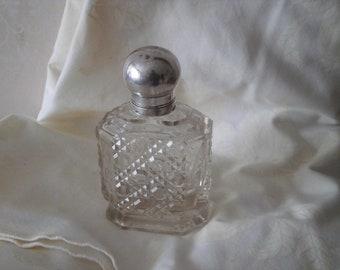 Hobnail perfume bottle | Etsy