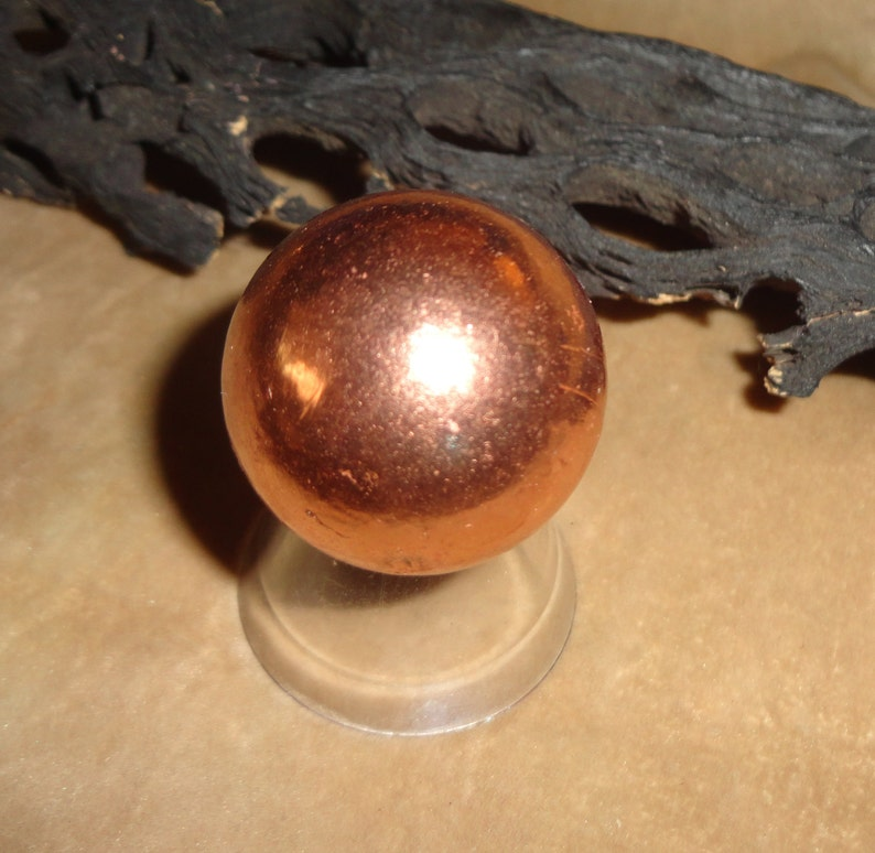 Copper Large Spheres For Therapeutic and Metaphysical Meditation in Various Sizes
