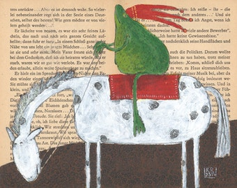 Giclée »The Frog Prince«
