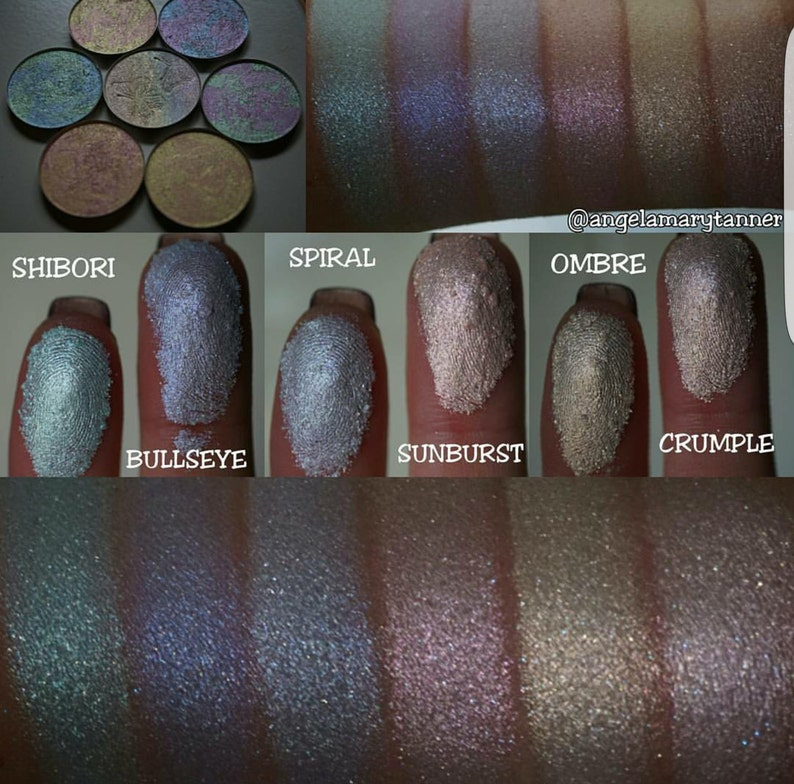 181c42d6613a4 LIMITED EDITION Full Kaleidoscope Tie Dye highlighter Collection. Six high  shine marble highlighters