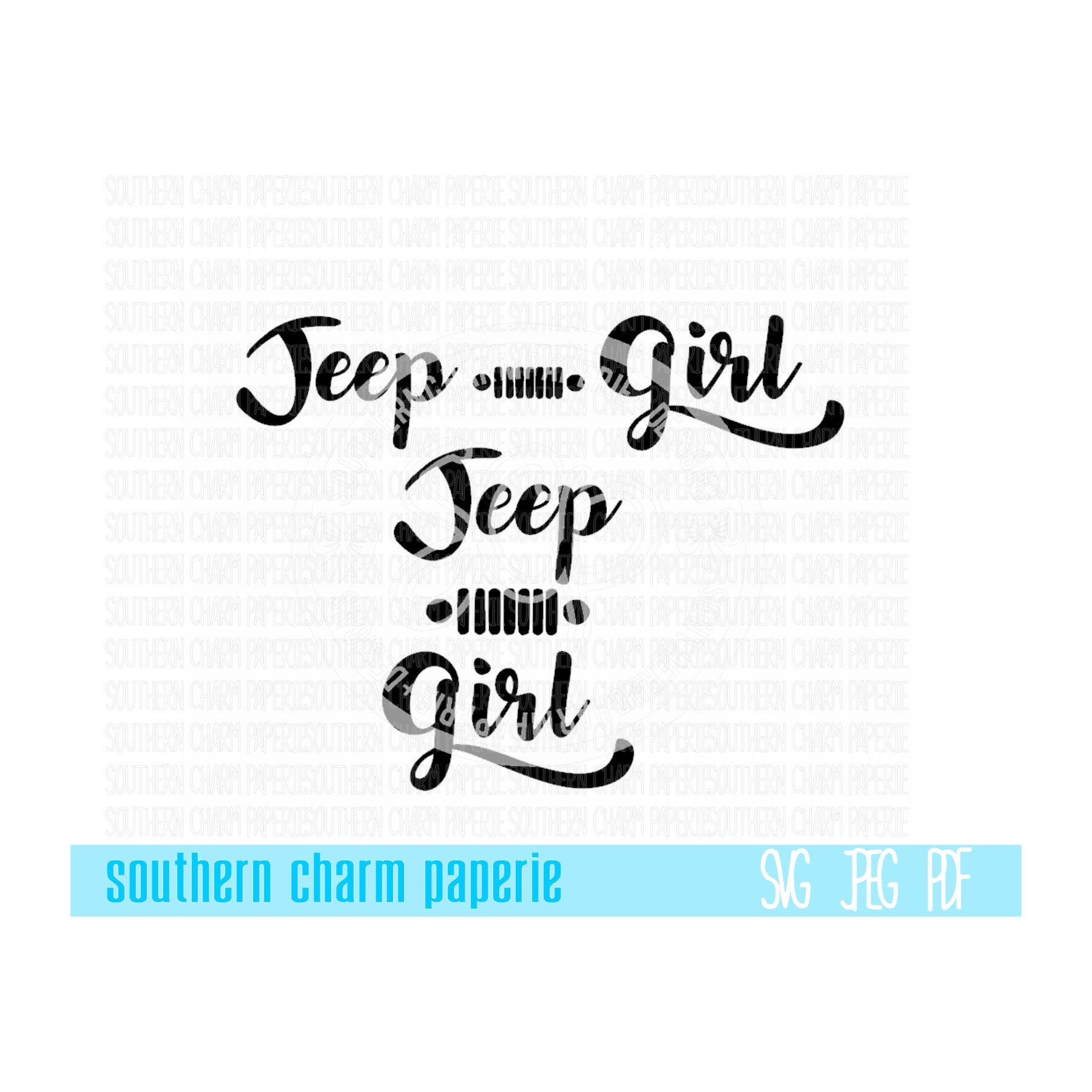 Jeep Girl 2 Versions Jeep Wrangler Offroad 4x4 Svg Cut File Etsy