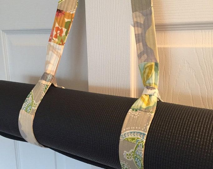 Yoga Mat Strap ~ Yoga Mat Carrier ~ Yoga Mat Sling ~ Yoga Strap