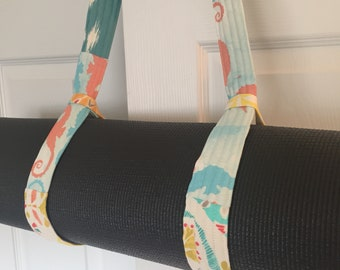 Yoga Mat Strap ~ Yoga Mat Carrier ~ Adjustable Yoga Strap