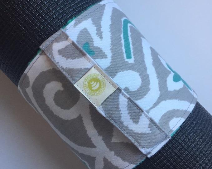 Yoga Mat Wrap - Yoga Mat Carrier ~ Mat Wrap with Handle