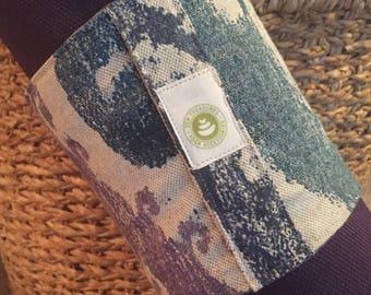 Yoga Mat Wrap ~ Yoga Mat Carrier ~ Mat Wrap with Handle