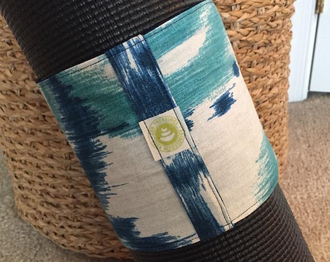 Yoga Mat Wrap with Handle ~ Yoga Mat Carrier