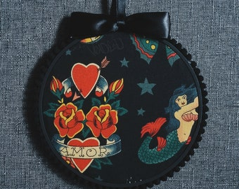 Tattoo Print Pin Display Hoop By VOIDEaD