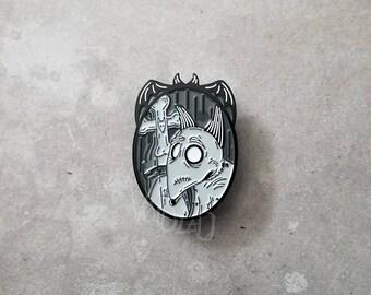 Frankenweenie Sparky framed Pin Delia Deetz By VOIDEaD