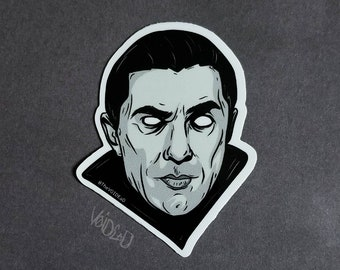The Count Sticker By VOIDEaD