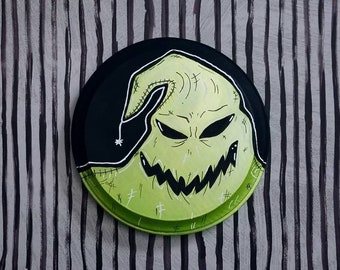 Nightmare Before Christmas Oogie Boogie Painting By VOIDEaD