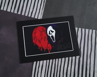 Ghostface Print By VOIDEaD