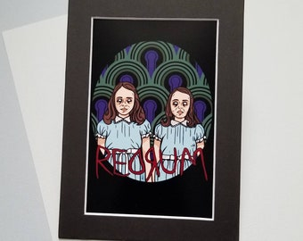 Shining Twins Print By VOIDEaD