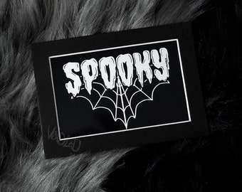 Spooky Print By VOIDEaD