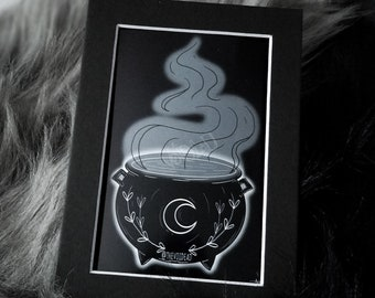 Cauldron Print By VOIDEaD