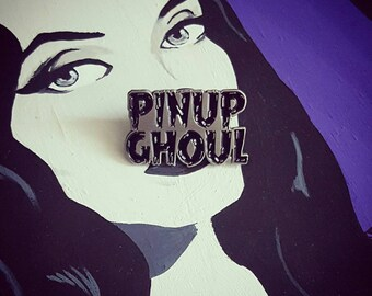 Pinup Ghoul Crew Lapel Pin By VOIDEaD