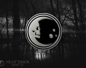 2nd Night Terror Skelemoon Pin collaboration from Night Terror Supply Co and VOIDEaD