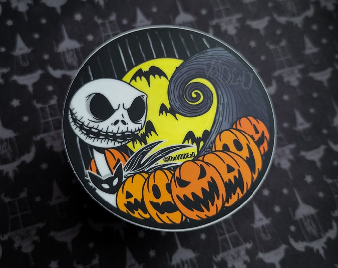 Featured listing image: Pumpkin King Sticker By VOIDEaD