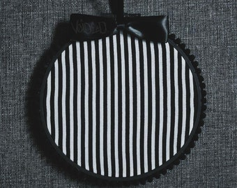Striped Pin Display Hoop By VOIDEaD