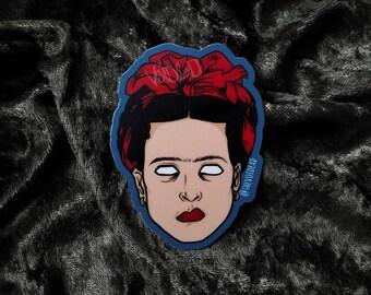 The Painter Weatherproof Sticker By VOIDEaD (Frida)