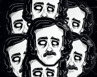 Edgar Allan Poe Stickers By VOIDEaD