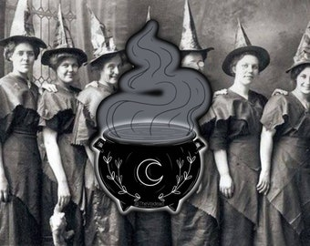 Witch Couldron Sticker By VOIDEaD