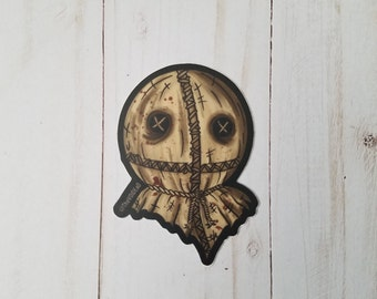 Trick R Treat Sam Sticker By VOIDEaD ( candy, samhain )