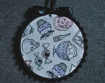 Goth Kawaii Pin Display Hoop By VOIDEaD