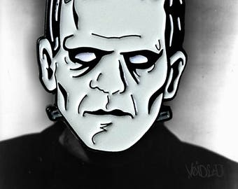 Frankenstein Enamel Lapel Pin By VOIDEaD (Frankenstein's Monster)