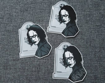 The Crow Mask Sticker By VOIDEaD