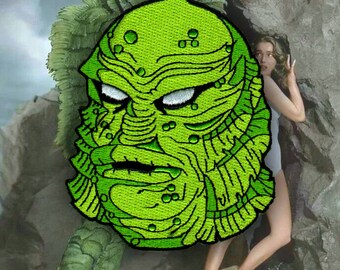 Creature from the Black Lagoon Gillman Monster Patch By VOIDEaD