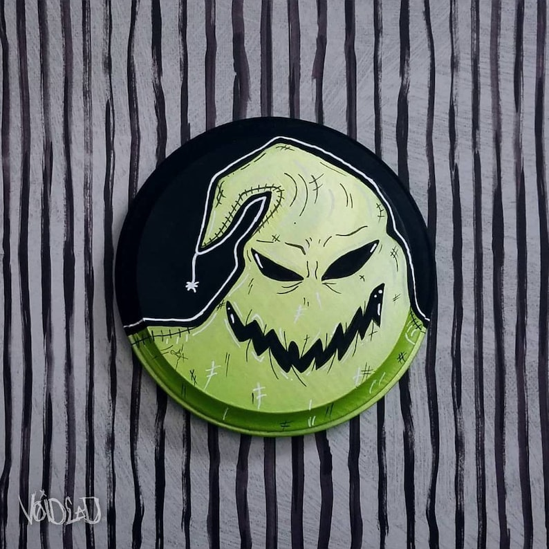 6fcf16f8 Nightmare Before Christmas Oogie Boogie Painting By VOIDEaD | Etsy