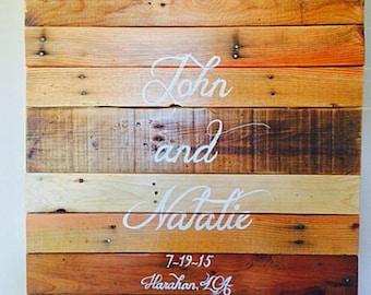 Wedding Signature Board