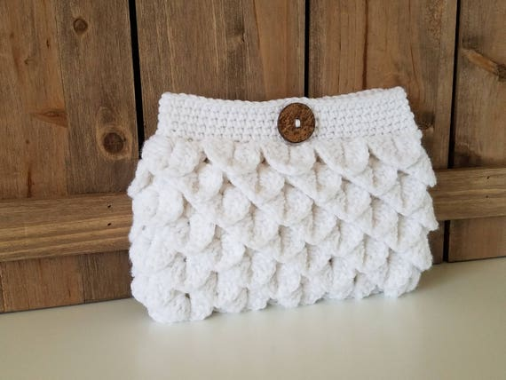 Crochet Clutch Geldbörse / Portemonnaie häkeln / häkeln   Etsy