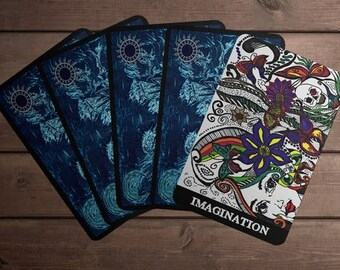 Eternal Unknown Oracle Deck- 30 cards, Pouch, box and prints! Limited Edition